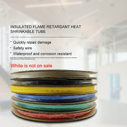 4/8/10mm Assorted Polyolefin Heat Shrink Tube Cable Sleeve Wrap Wire Set Insulated Shrinkable Tube 100/200M