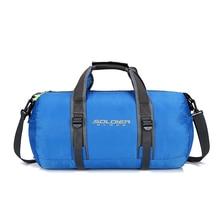 купить Outdoor Sports Men Gym Bags For Training Bag Gym Tas Women Fitness Travel Foldable Waterproof Light Bags Sports Yoga Mat Bag по цене 902.19 рублей
