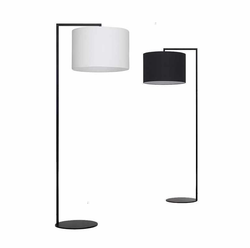 Contemporary Floor Lamps Fabric Lamp