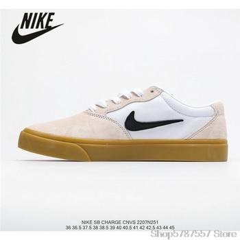 Original Nike SB Chron Slr Nike men's retro low-top casual skateboard shoes size40-45 nike кеды мужские nike sb charge slip premium размер 43