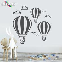 Наклейки на стену воздушный шар Детская настенная художественная детская Декор Спальни Съемный виниловая наклейка украшение для гостиной