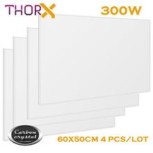 ThorX K300 300W 50*60cm 4 psc/lot Infrared Heating Panel Heater With Carbon Crystal Technology Russia free and fast delivery