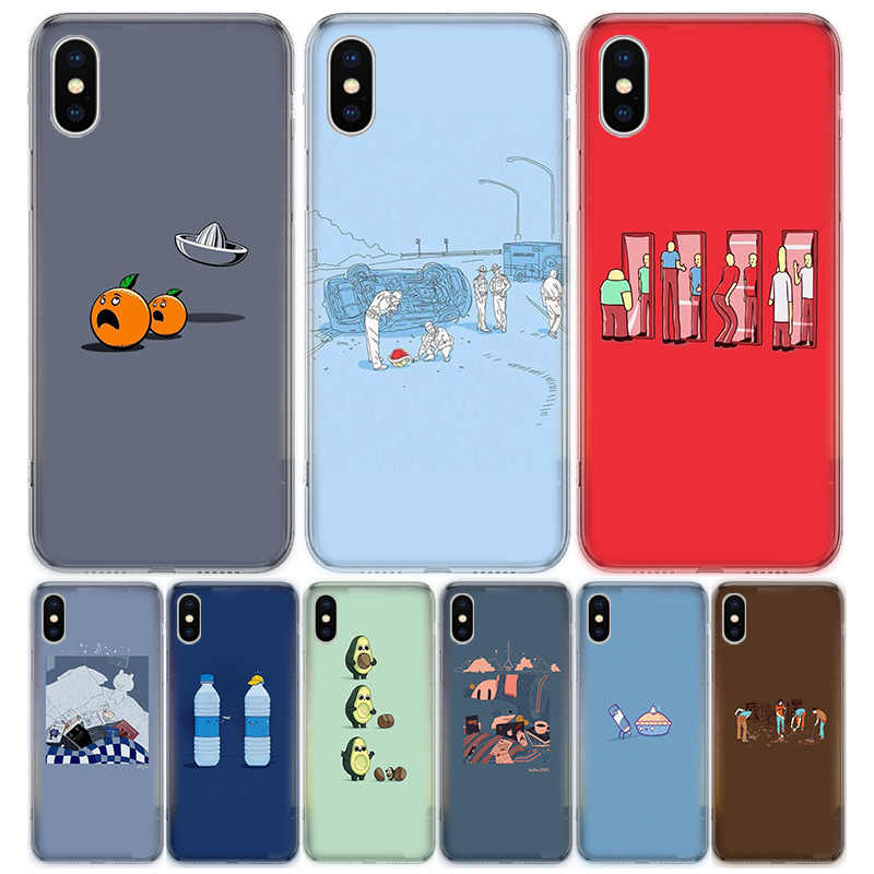 Cartoon Cute Fashion Wallpaper For Apple Iphone 7 8 Plus 11 12 Mini Pro 10 X Xs Xr 6 6s 5 5s Se 2020 Max Soft Clear Silicone Tp Phone Case Covers Aliexpress