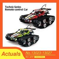 Série Technic Compatível lepins 42065 A Pista RC Carro de Corrida de controle Remoto-Conjunto de Blocos de Construção Tijolos Educacionais Presentes Brinquedos