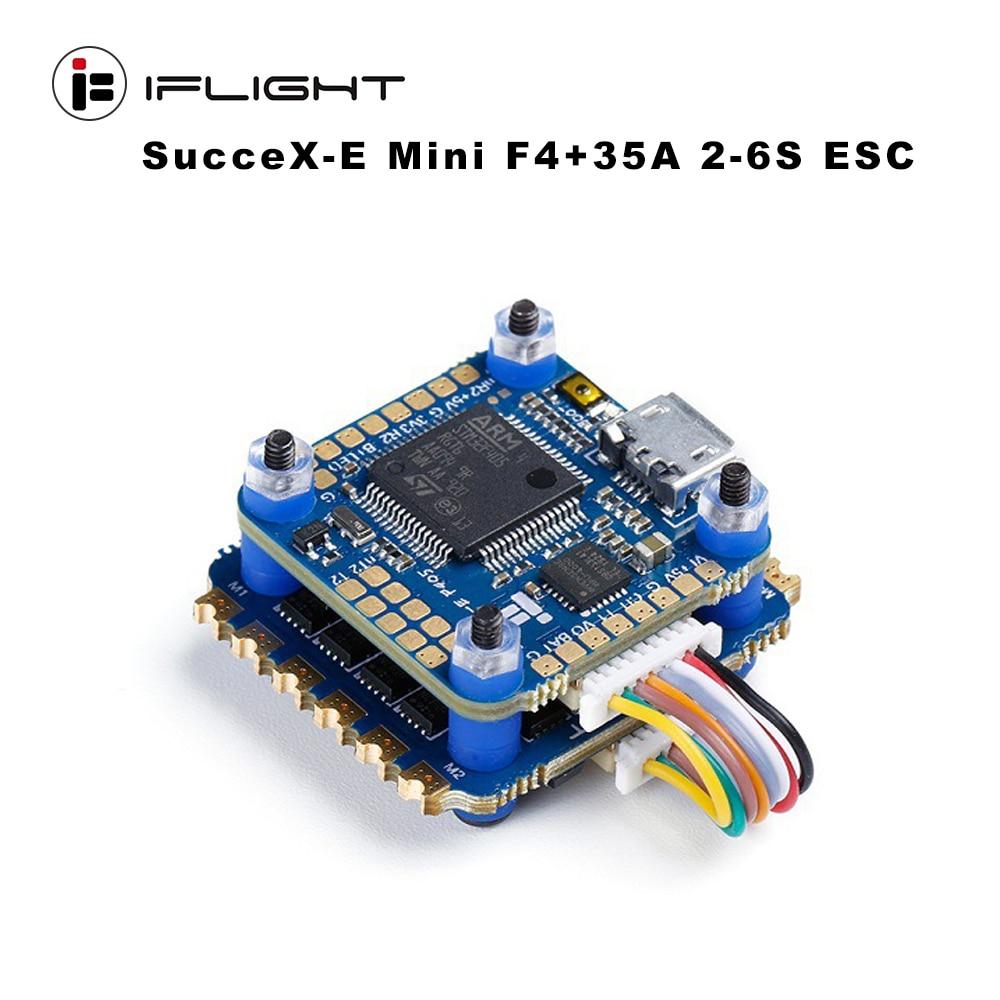 IFlight SucceX-E Mini F4 35A 2-6S Flight Stack MPU6000 SucceX-E Mini F4 FC/SucceX-E Mini 35A 4 In 1 ESC For FPV Dr