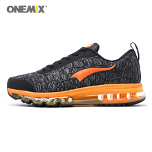 onemix New Air Sports Running Shoes Men Air Cushion Breathable Sneakers for Men Sport Shoes Outdoor Athletic Tennis Shoes onemix men flash running shoes air cushion wearable sport shoes breathable comfort fitness sneakers outdoor casual walking shoes