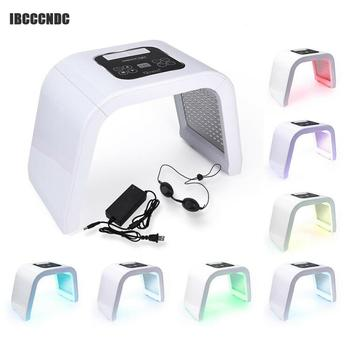 7 Colors Professional PDT Led Mask Facial Light Therapy Skin Rejuvenation Device Spa Acne Remover Anti-Wrinkle Beauty Treatment professional photon pdt led light facial mask therapy 7 colors skin rejuvenation device acne remover anti wrinkle skin care tool