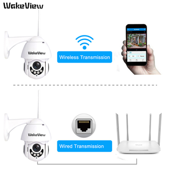 WakeView PTZ Mini High Speed Dome Camera IP 1080P 4X Optical Zoom 2MP Outdoor Waterproof CCTV Video Surveillance ONVIF HD night цена 2017