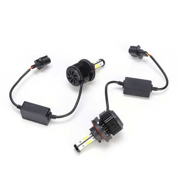 Auto lampy halogenowe lampa samochodowa H13 LED żarówki reflektorów samochodowych 6000K Cool White High martwa wiązka zestaw do konwersji reflektorów samochodowych tanie i dobre opinie CN (pochodzenie)