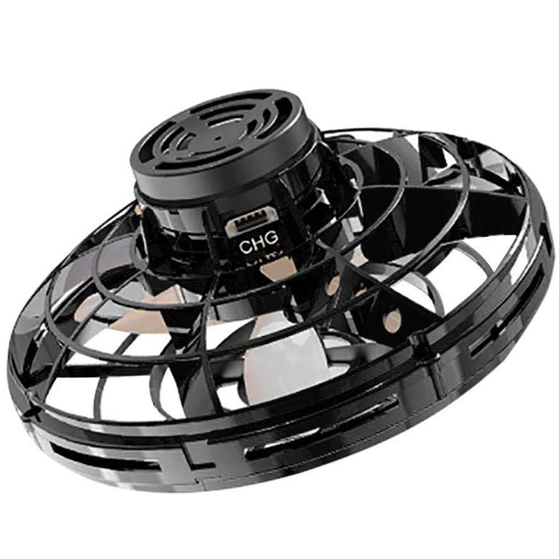 RCtown Aircraft FlyNova Flying Fidget Spinner Toy Mini Drone Helicopter Rotating With Shinning LED Light Children Gift Toys