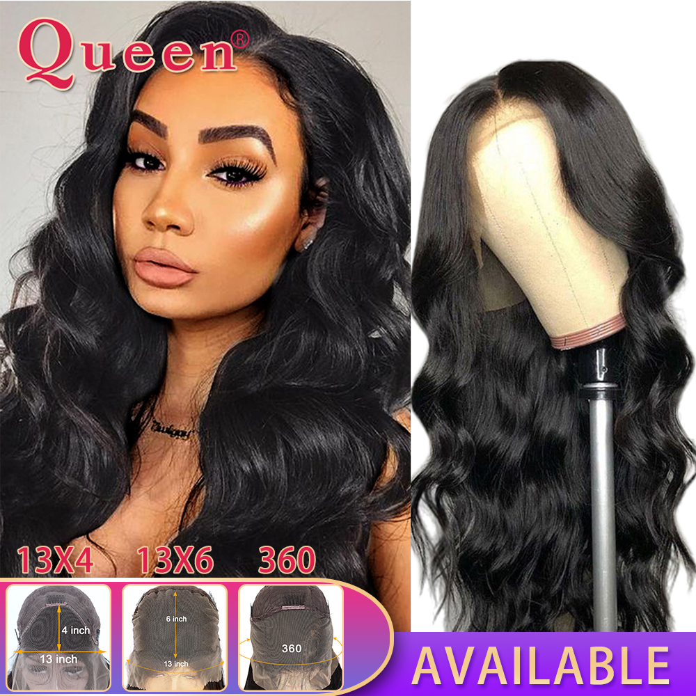 Body Wave Lace Front Human Hair Wigs Remy Hair Wigs Brazilian Human Hair Wigs For Black Women 360 Lace Frontal Wig Swiss Lace