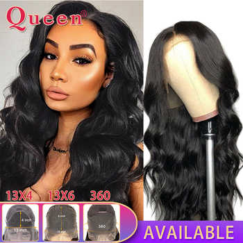 Body Wave Lace Front Human Hair Wigs Remy Hair Wigs Brazilian Human Hair Wigs For Black Women 360 Lace Frontal Wig Swiss Lace - DISCOUNT ITEM  55% OFF All Category