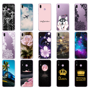Image 3 - Мягкий силиконовый чехол для Huawei Honor Play, чехол 6,3 дюйма, мягкая задняя крышка из ТПУ, чехлы для Huawei Honor Play, Coque, etui, сумки, бампер
