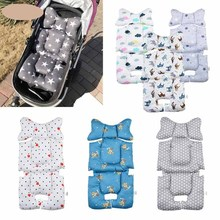 2021 Baby Stroller Cotton Pad Thicken Stroller Pad Both Sides Use Cotton Pad Stroller Pad Baby Stroller Cotton Pad Babies