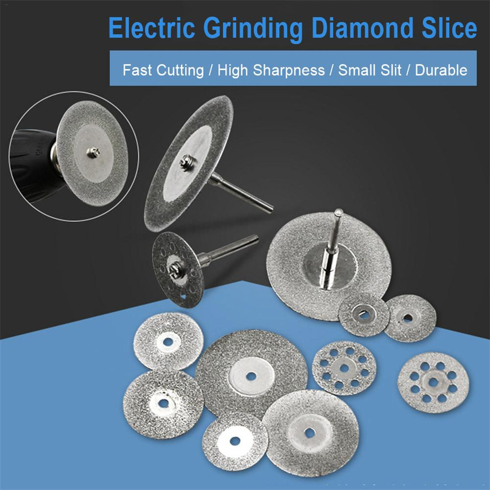 22mm Diamond Grinding Disc Cut Off Discs Wheel Glass Cuttering Saw Blades Rotary Abrasive Tools Dremel Rotary Tool Diamond Discs