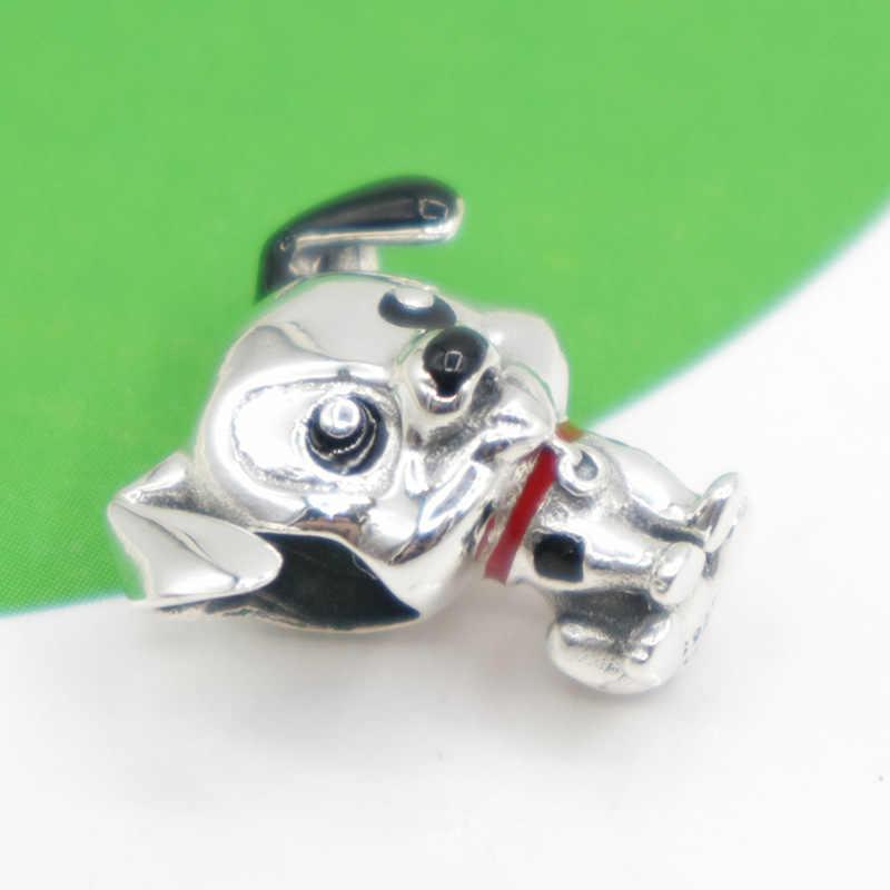 Nova prata 925 charme lilo & stitch alice ajuste pandora encantos 925 prata esterlina contas pulseira diy jóias 2020 disneys coleção