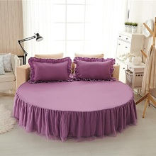 Bed Linen and Pillowcase Bedding Set Home Flat Sheet Round Mattress Cover Bedspread 2 2m 2