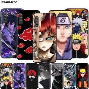 Webbedepp Hokage Naruto Kakashi Case for Samsung Galaxy S7 S8 S9 S10 Plus Edge Note 10 8 9 A10 A20 A30 A40 A50 A60 A70(China)