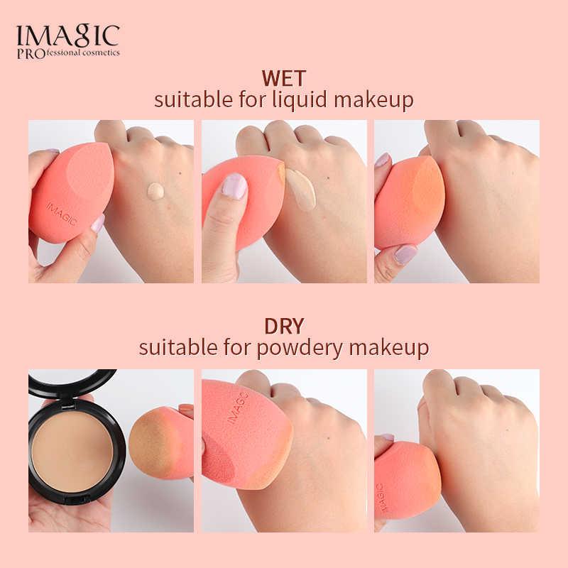 IMAGIC Beleza Esponja de Maquiagem Liquidificador Esponja Facial Sopro De Algodão Em Pó Belleza Spons Sopro Esponja Maquiagem Beleza Ferramentas de Cosméticos