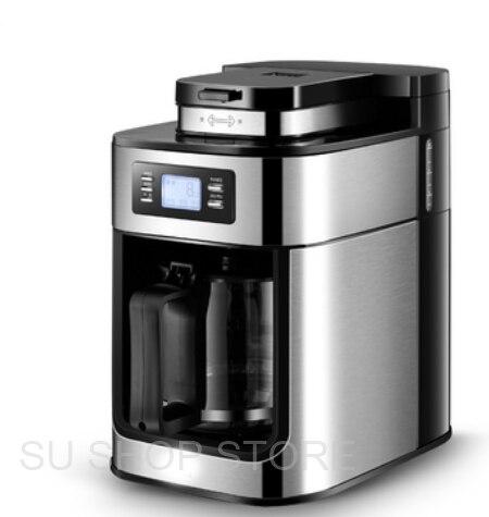 Электрическая кофемашина Бытовая полностью автоматическая капельная Кофеварка 1200 мл чайник кофейник домашняя кухонная техника 110 В|Кофеварки|   - AliExpress