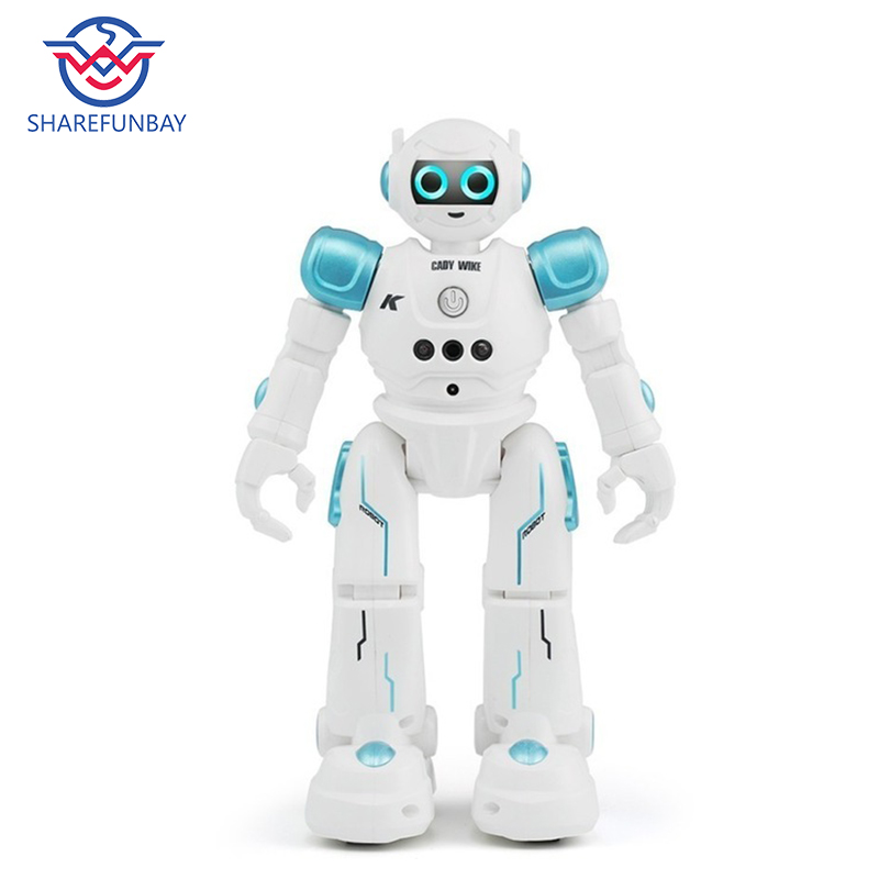 SHAREFUNBAY rc robot intelligent robot programmable walking robot music robot dancing toy gesture sensing smart robot toys