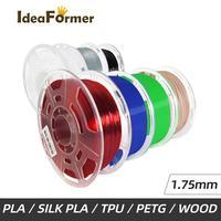 Ideaformer 3D Stampante Filamento 1.75 millimetri 0.8/1KG PLA/SilkPLA/PETG/TPU 3D Stampa di Plastica filamento Libero Da Oltreoceano Magazzino