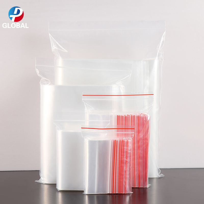 D&P 100pcs Various Sizes Transparent Self Sealing Plastic Resealable Cellophane Gift Storage Bag OPP Poly Zip Lock Packaging Bag