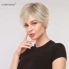 Волосы синтетические короткие волнистые для женщин louis ferre