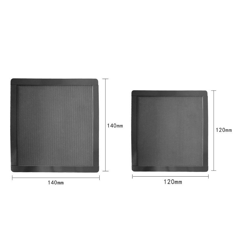 12x12MM/14X14MM Magnetic Frame Dust Filter Dustproof PVC Mesh Net Cover Guard For Chassis PC Computer Case Cooling Fan Accessori