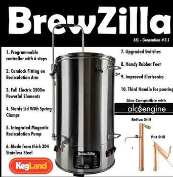 All In One Brewery BREWZILLA 65L - GEN.3.1 - DISCOUNT ITEM  0% OFF All Category