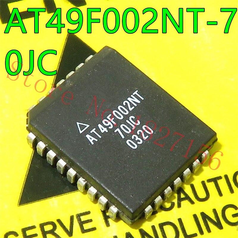 AT49F002NT-70JC AT49F002 PLCC 2-Megabit 256K x 8 флэш-память 5 вольтов только