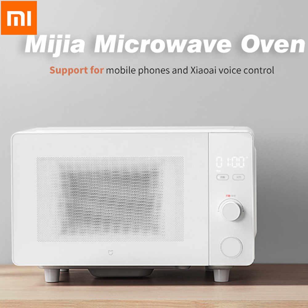 Mijia 700 Вт умная микроволновая печь 20л стерео равномерная скорость Горячая классификация профессиональное приложение для размораживания умная микроволновая печь