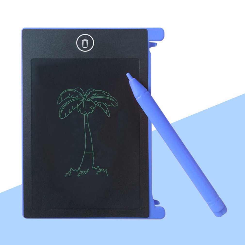 4.4-Inch Portable LCD Handwriting Board Electronic Writing Pad Kids Adults Drawing Tablet Notepad For Home Office