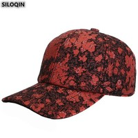 SILOQIN Trend Women's Hats Autumn Winter Fashion Sheepskin Genuine Leather Hat Snapback Adjustable Size Lady Brands Baseball Cap