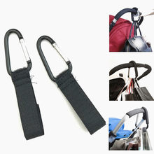 Stroller Hooks Wheelchair Stroller Pram Carriage Bag Hanger Universal Hook Baby Strollers Shopping Bag Clip Stroller Accessories(China)