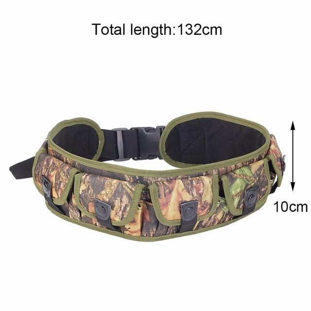 Tactical 15/25/28 Rounds Ammo Shell Holder Belt 12/20 Gauge Ammo Pouch Shot Gun Shell Bandolier Waist Bullet Cartridges Holster 2