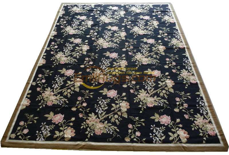Europe Woolwork Carpet Wool Carpet Bedroom Manual Wool Carpet Carpet European Luxurious New Zealand Wool Zc2115 9x12