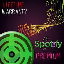 Spotify Premium garantie à vie lecteur de musique un an