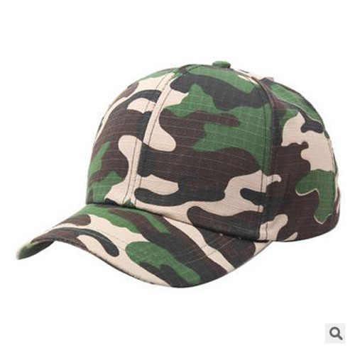 ผู้ชายคลาสสิกหมวกทหารชายหญิงหมวกเบสบอลหมวกปรับกองทัพ Camouflage หมวกกีฬากลางแจ้งสไตล์