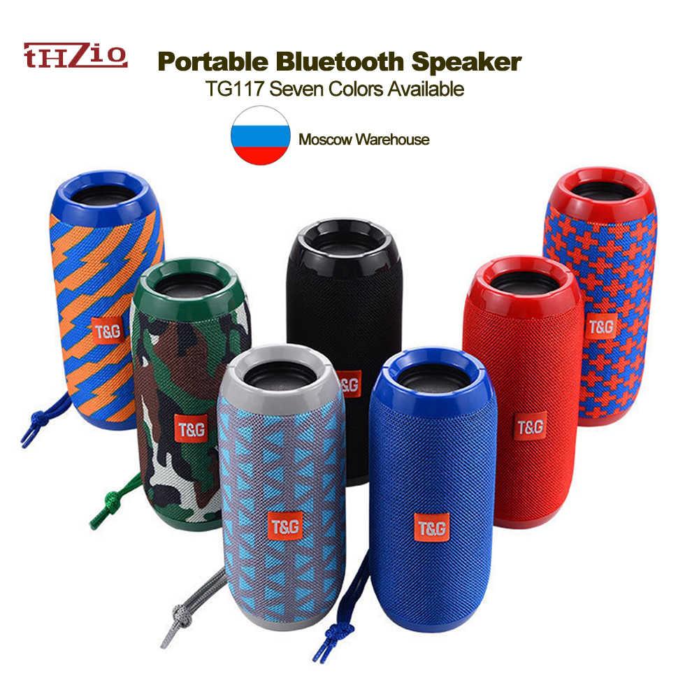 10W Draadloze Bluetooth Speaker Waterdichte Soundbar Met Subwoofer Draagbare Speaker Met Mic Bass Fm Radio MP3 Usb Muziek Boombox