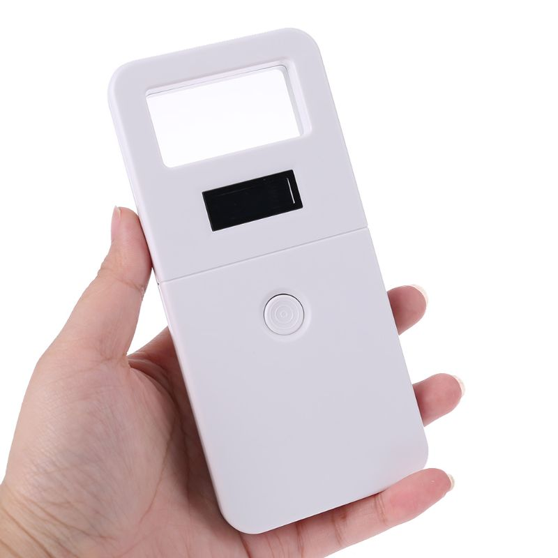 Free Shipping FDX-B Animal Pet ID Reader Chip Transponder USB RFID Handheld Microchip Scanner For Dog,cats,horse