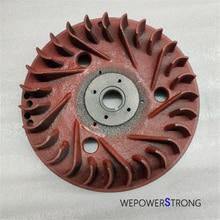 Flywheel Fits For China Model 170F 173F 178F 186F 188F 190F 192F Single Cylinder Small Air Cool Diesel Engine Generator Parts
