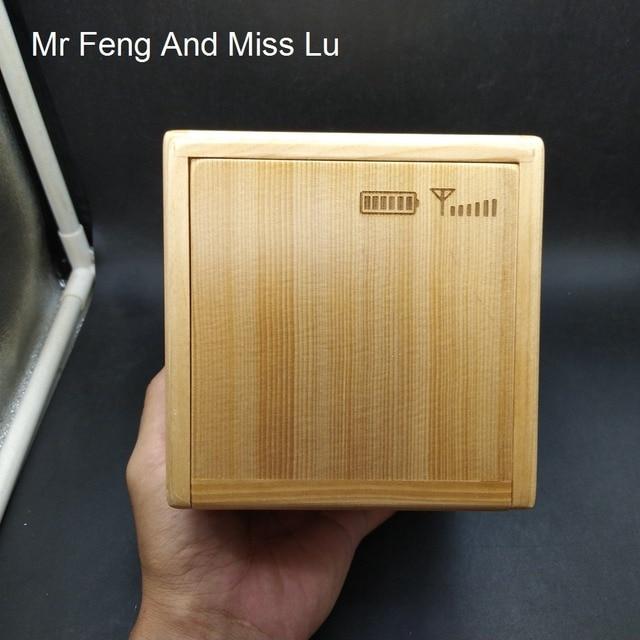 Contenitore di Regalo di legno Di Puzzle Con Speciale Meccanismo di Gioco Giocattolo Moneta Contenitore di Soldi