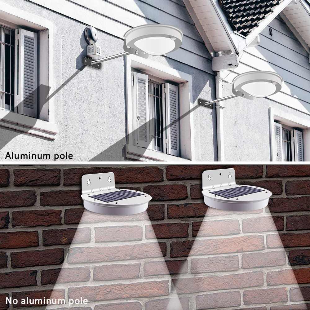 2/4 Pcs 28 LED PIR Motion Sensor Solar Straße Licht Wasserdicht Energy Saving 2 Beleuchtung modi Outdoor Pfad Home Garten wand Lampe
