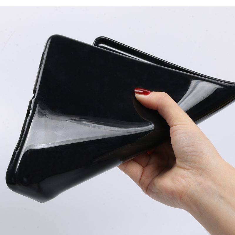 black soft Beige Tablet case for Apple iPad 10 2 2019 iPad 7 7th Generation Flip Stand Case Trifold