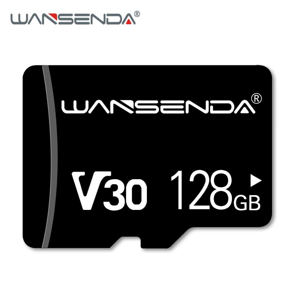 Hot WANSENDA Memory Card 128GB 64GB Micro SD Card Class 10 Flash Card 8GB 16GB 32GB Memory Microsd TF Card For Tablet