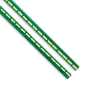 Image 3 - Новый комплект 2 шт. 60 светодиодов 602 мм Светодиодная лента для подсветки LG 55UF6450 55UH6150 55UF6430 6916L2318A 6916L2319A 6922L 0159A LC550EGE