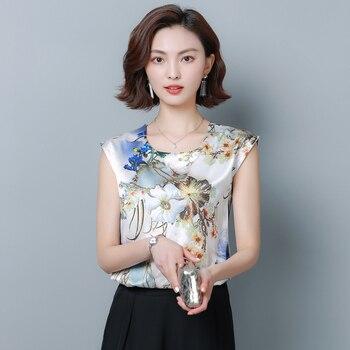 Korean Fashion Silk Women Blouses Satin Flower Batwing Sleeve White Women Shirts Plus Size XXXL/4XL Blusas Femininas Elegante korean fashion chiffon women blouses batwing sleeve white women shirts plus size xxl blusas femininas elegante ladies tops