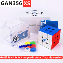 GAN356 XS 3x3x3 Magnetischen zauberwürfel gans 3x3x3 cube GAN356XS 3x3x3 cubo magico GAN 356XS 3x3 geschwindigkeit cube GAN356X S 3x3 puzzle