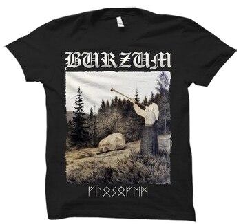 FILOSOFEM BRZM T SHIRT Black Metal Mayhem Darkthrone Bathory Emperor Immortal Mens Tops Cool O Neck T-Shirt Top Tee Plus Size